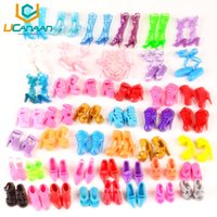 Wholesale Dress Shoes For Little Girls - UCanaan 60 Pairs Shoes Fashion Doll Shoes Heels Sandals for Barbie Dolls Outfit Dress Best Gift for Little Girl