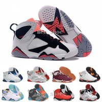 special offer mesh - With Box New Retro Basketball Shoes Men Real Authentic Sneakers Replica Zapatos Mujer Homme Retros Shoes New s VII Special offer
