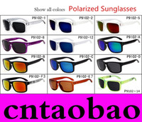Wholesale Matte Wrap - NEW BRAND Orginal Quality VR 46 SUNGLASSES eyewear goggles MATTE BLACK W  GRAY IRIDIUM POLARIZED LENS FOR MEN MEN'S 12 colors options