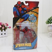 Red spider man carnage - 15cm Spider Man Classic Villain Carnage Action Figure Capture Webs