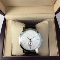 Wholesale Lover Watches Sale - 2016 Hot Sale Fashion women man watch Stainless Steel Bracelet Wristwatches Brand male  female clock for lovers with box free shipping