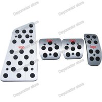Wholesale Toyota Verso - aluminum gas fuel pedal foot rest pedal break pedals for Toyota Vios Verso 2014