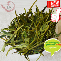 Wholesale mcgretea Good new handmade dragon well organic green tea good quality Mingqian West Lake Longjing tea leaves g Gift