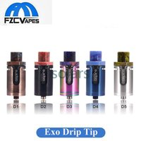 Wholesale Exo Caps - Authentic Aspire Cleito Exo Drip Tip Resin Top Cap Beautiful Tips for Cleito Exo Tank 100% Original