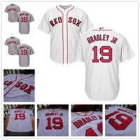 Wholesale Andrew Christian L - Boston Red Sox Jersey Cool Base 19 Jackie Bradley Jr. 7 Christian Vazquez 18 Mitch Moreland 16 Andrew Benintendi 17 Deven Marrero