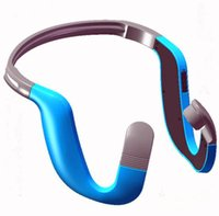 Wholesale People Wireless - newest wireless vibrator audifono on-ear headphone bone-conduction car headset for deaf people stereo music comfortable wearing