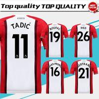 Wholesale Football 14 - Southampton home Soccer Jersey 17 18 Southampton soccer shirt 2018 #9 RODRIGUEZ #11TADIC #14 RAMEU #8 DAVIS Football uniforms sales
