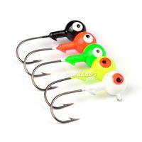 головка для приманки оптовых-High Quanlity Jigs Lead Head рыболовный крючок 1 г / 3,5 г / 5 г / 7,0 г / 10 г мягкая червь