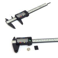 kohlenstoff-manometer groihandel-150mm 6inch LCD Digital elektronischer Carbon Fibre Messschieber Messschraube