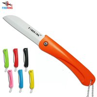 set oxide ceramics - FINDKING brand quot Colorful Eco friendly Zirconium oxide Folding kitchen Ceramic fruit knife cutting tool with Chain