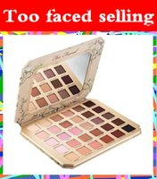 Wholesale Ultimate Size - Factory Direct DHL Free Too faced makeup Chocolate Natural Love Eye Shadow Collection Palette Ultimate 30 Color Eye Shadow Palette +Gifts