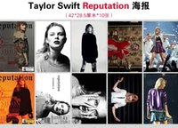 Wholesale One Direction Posters - Poster Wall Decor Taylor Swift One Direction Ariana Grande 16.5* 11.2 inch A3 Poster 10 pages Reputation Dangerous Woman