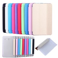 Wholesale Galaxy Tab 4g - Business high quality PU Leather Flip Cover Case for Samsung Galaxy Tab A 7.0 2016 T280 T281 T285 Wifi 4G