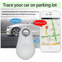 Wholesale remote alarms wireless - Wireless Remote Itag Bluetooth 4.0 Tracker Keychain Key Finder GPS Locator Practical Mini Anti-Lost Alarm For Child Wallet Pet Retail Box
