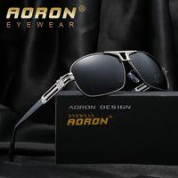 Wholesale Aviator Sunglasses Cheap - Brand Designer Polarized Lens Pilot Fashion Sunglasses for Men and Women Aviator Vintage Sport Sun Glasses UV400 Driver Sun Glasses Cheap