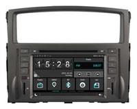 Wholesale Dvd Car Mitsubishi Pajero - Navirider car dvd player for Mitsubishi Pajero new headunit stereo wince6.0 dual core 256MB Capactive touch 1080P DVR 3G WIFI TPMS GPS radio