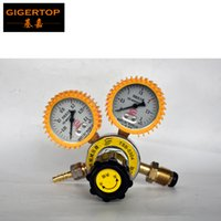 oxygen controller - TIPTOP TSB Propane Gas Pressure Reducer Gas Tank Output Controller For LPG Flame Machine Oxygen Supply Gauge input output