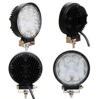 24W LED Luz de trabajo 12V IP67 Spot / Flood Luz de niebla de carretera ATV Tractor Train Bus Floodlight ATV UTV Lámpara de trabajo