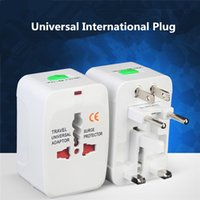 All In One adaptateur de prise universel international Adaptateur de chargeur de courant alternatif World Travel avec AU US UK EU Plug Converter Plug Wholesale