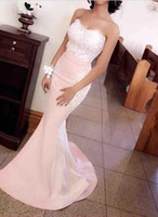 Wholesale Elegant Maternity Wear - Elegant Mermaid Cheap Evening Dresses With Tulle Sexy See Through Party Evening Gowns Custom Made Luxury Dress Evening Wear