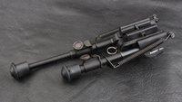 Wholesale Mount Bipod Rifle - hunting shooting rifle shotgun picatinny rail mount Aluminium alloy 15cm-25cm Stepless expansion Bipod RH6-2 M8482