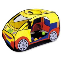 Wholesale Kids Tent Car House - Wholesale-Kid Children Christmas Gift Car Play Tent Ultralarge Car Toy Tent Large Game Houese Indoor Outdoor Beach Play House
