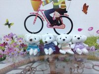 Wholesale special offer toys resale online - Plush toy gifts gift pendant pendant mobile phone bear rabbit special offer