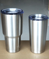 Wholesale hot sale oz oz sprot Ramblers Tumblers stainless steel mugs beer car yetis cups