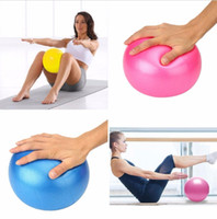 Wholesale yoga ball 75cm - Wholesale-Physical Fitness Yoga Ball Fitness Appliance Home Trainer Pilates Mini Sports Balance Ball