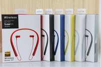 Wholesale Earphones Iphone Beautiful - NEW Selling Hanging ear stereo Portable earphone Sport Bluetooth headset MS-750A hight quality Beautiful and durable for sony iphone samsung