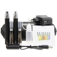 Double eGo CE4 Starter Kit E Zigarette 650 900 1100mAh eGo t Batterie 1.6ml CE4 Clearomizer E Cig Set Zipper Case Kit