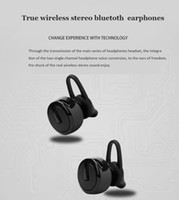 Wholesale Earphone Bluetooth Cable - M99 Mini TWS Twins Wireless Bluetooth 4.1 EDR Stereo Headset In-Ear Earphones with Microphone Earbuds Charge Cable 3 colors in stock