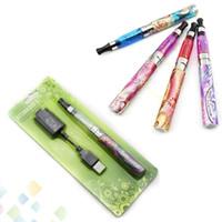 ego q batterien großhandel-Hohe Quanlity EGO Q Blister E Zigarette EGO Q CE4 Clearomizer Blisterpackung Starter Kit mit 650 mah 900 mah 1100 mah Batterie Freies DHL