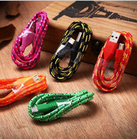 Wholesale Manufacturers m Andrews data cable mixed color nylon braided data cable smartphone usb line for android and l phone4567