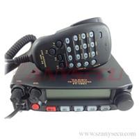 Wholesale Uhf Mobile Radios - Free Shipping Original Yaesu FT-1907R Mobile walkie talkie UHF 400MHz ~ 470MHz transceiver ham radio