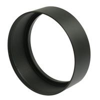 Wholesale video screw - Wholesale- 62mm Screw Mount Metal Lens Hood for Digital Video Camera