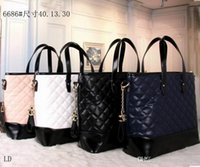 Wholesale C Shopping - New CC Brand Bag Women Gabrielle Famous Designer C Shoulder Bag Leather Handbags Tote Womens K0 Shopping HOBO Bags