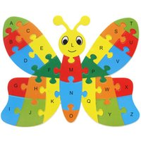 XMAS KIDS PUZZLES Animal Puzzle Kids Baby Wooden Wooden Puzzle Numbers Alphabet Jigsaw Aprendendo Educational Lnteresting Collection Toy