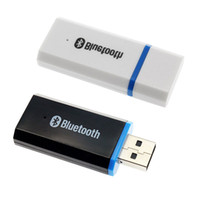 Wholesale Vehicle Bluetooth Adapter - Wholesale-Car Vehicle USB AUX IN Bluetooth Wireless Music Audio Receiver Adapter