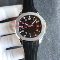 Wholesale Eta Diver - Luxury High Quality Automatic Watch 40mm x 10mm Black AQ 5167A-001 Asia ETA 2824 Movement Mechanical Transparent Mens Watch Watches