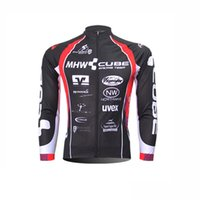 0193c4efd46 Tops Breathable Men CUBE Men Cycling Jerseys Pro Team Long Sleeve shirt MTB  Maillot Ropa Ciclismo