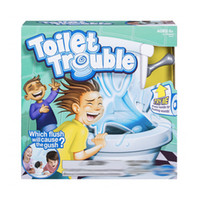 Wholesale Tricky Toilet Toy - 2017 New kids toy Toilet trouble game Washroom Tricky Toys Funny Game parents-kids friends play together for fun as a gift C2052