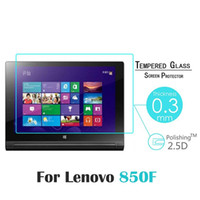 Wholesale Screen Guard Inch - Wholesale- For Lenovo Yoga Tab 3 8-inch Tablet 850 850F YT3-850F glass 9H Premium Tempered Glass Screen Protector guard Film