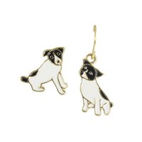 Wholesale Newest Earrings Style - Newest Punk Style Jewelry Gold Alloy Puppy Design Earrings Stud and Drop Earrings for Fashion Women