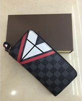 Wholesale Cheap Clutch Purses Leather - Hot! wholesale 2017 MICHAEL KALLY famous brand fashion single zipper cheap luxury women pu leather wallet lady ladies woman long purse