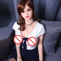 Wholesale Real Feel Breasts - China real feeling sex doll with small breast 165cm real vagina sex doll silicone metal skeleton