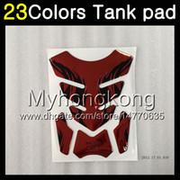 Wholesale Sticker Yamaha - 23Colors 3D Carbon Fiber Gas Tank Pad Protector For YAMAHA YZF R3 R25 14 15 16 YZF-R3 YZF-R25 YZFR3 YZFR25 2014 2015 16 3D Tank Cap Sticker