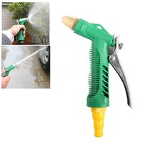 Wholesale Auto Washer Nozzle - Wholesale-Newest Home Car Auto Washer Nozzle Adjustable High Pressure Household Garden Car Wash Water Gun Head Wash Machine high quality