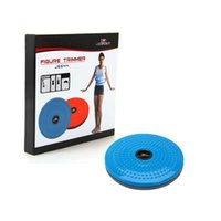 Wholesale Waist Twisting Disc - Wholesale- Twisting Waist Disc Body Twister Exercise Foot Exercise Fitness Twister Figure Trimmer Magnet Balance Rotating Board