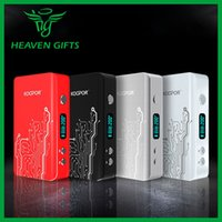 Wholesale E Cigarette Mod Vw - Wholesale- 100% Original Superpowerful KOOPOR Plus TC VW 200W fit for 18650 Battery E-cigarette TC Mod with OLED Screen from Heavengifts